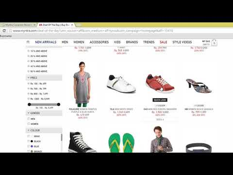 Myntra Coupons - How to Use With CouponDunia