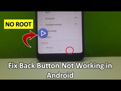 How to Fix Back Button Not Working in Android Phone 100% Work | NO ROOT