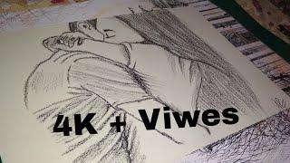 Download Hug Day Special 😍 Couple Sketch - Art Guruji Video