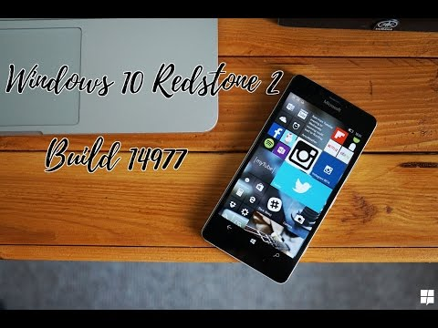 Windows 10 Mobile Redstone Build 14977 | Full Review.