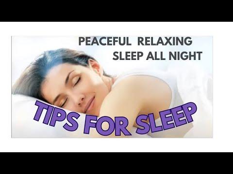 Sleep Tips for a Better Sleep