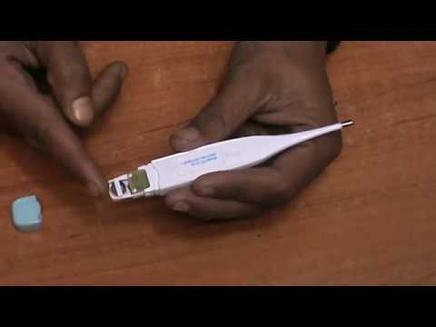 how to use digital thermometer and repair