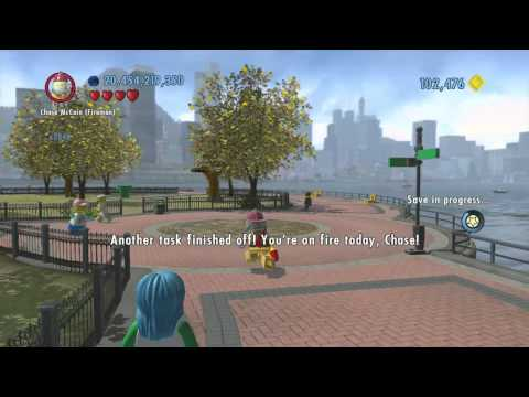 LEGO City Undercover (Wii U) ~ Collectables Guide - Lady Liberty Island (Part 2/2)