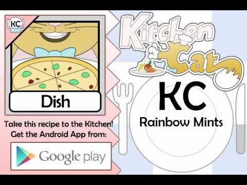 Rainbow Mints - Kitchen Cat