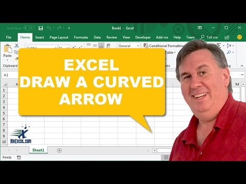 Curved Arrow - 1164 - Learn Excel from MrExcel