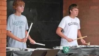 Moon Area High School Drumline 2009 & 2010