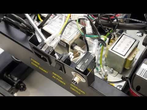 How to change the switch button on a T540A treadmill ?