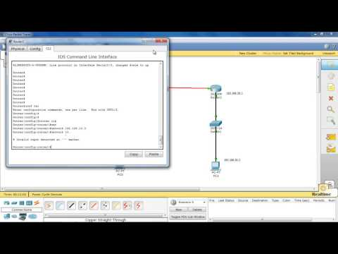 Telnet Remote access on Cisco router Packet tracer Step By Step