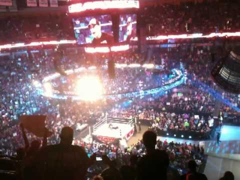 The Rock at Monday Night Raw