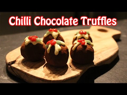Chilli Chocolate Truffles (Day Two) | 12 Bakes of Christmas