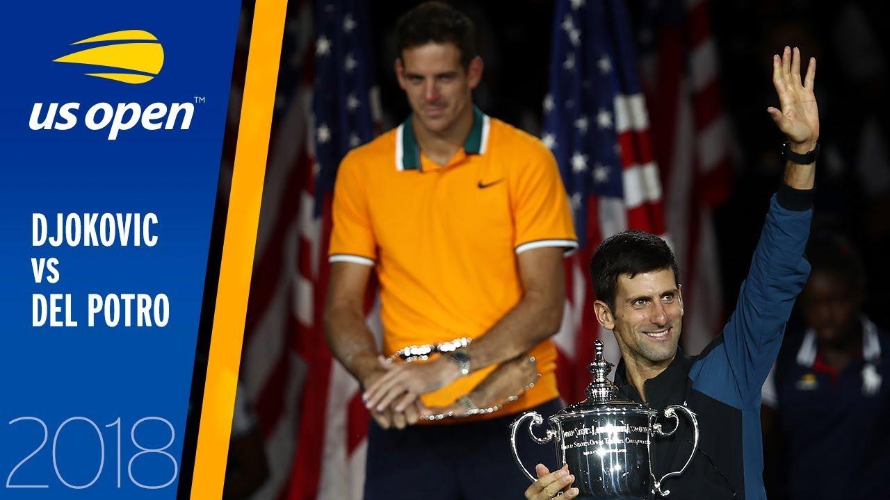 Novak Djokovic vs Juan Martin del Potro Full Match   US Open 2018 Final
