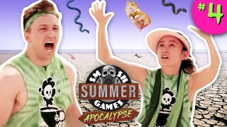 SLIPPERY SNAKES CHALLENGE | Smosh Summer Games: Apocalypse Ep. 4