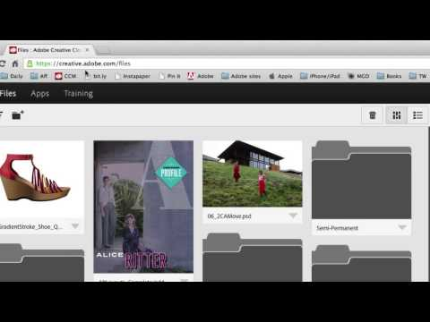 Adobe Creative Cloud - How To Share Files With Clients and Colleagues