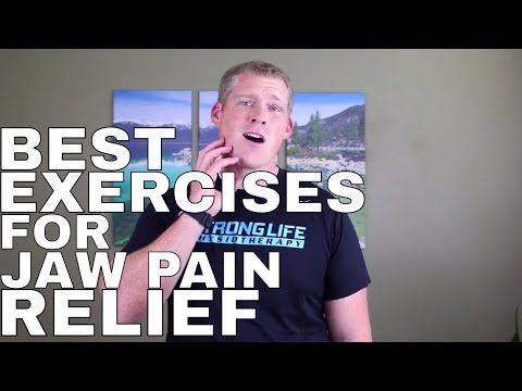 TMJ TMD Pain Relief Exercises