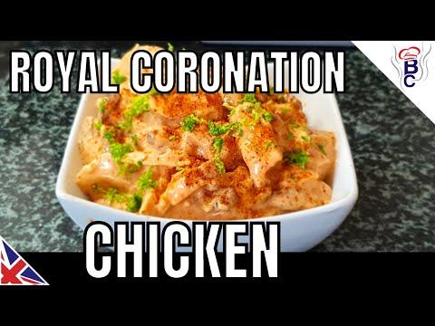 British Royal Wedding Food Coronation Chicken Picnic Recipe