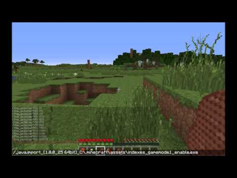 How to get creative mode on any Minecraft Server with 1 command! [TUTORIAL]