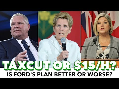 Ford: No To Minimum Wage Increase, Promises Tax Cut Instead