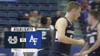 Utah State vs. Air Force Basketball Highlights (2018-19) | Stadium