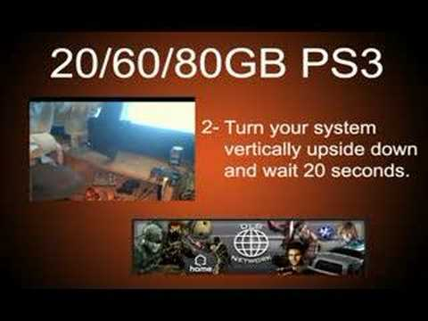 Clean out the Dust Inside your PS3