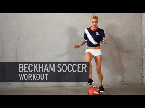 The Beckham Soccer Workout