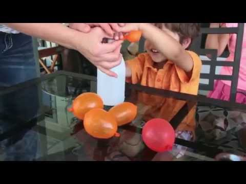 Mom Hack - Easy Way to Fill Water Balloons
