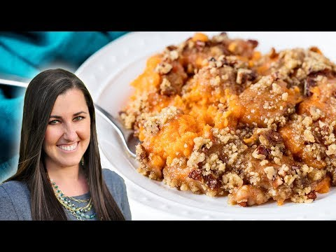 How to Make The Best Baked Sweet Potato Casserole     The Stay At Home Chef