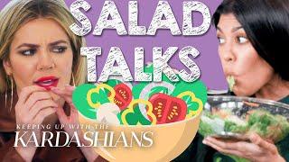 Best Kardashian Salad Talks | KUWTK | E!
