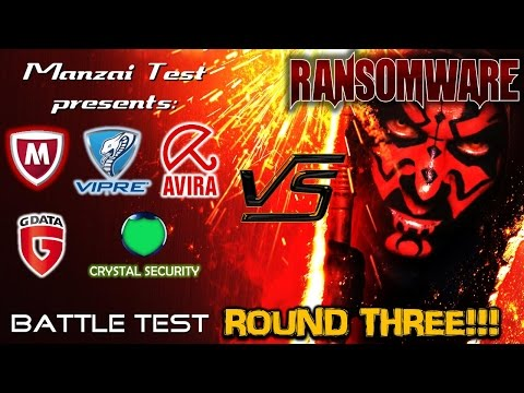[Battle Test] Round 3 - 5 Antivirus vs Ransomware