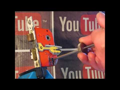 Lock Picking Tutorial Of Picking A 3 Lever Mortice Lock Using RB Locktools Two In One Pick