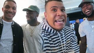 FINALLY MEETING WOLFIERAPS AND CHRIS SMOOVE!! AYO & Teo AT NBA LIVE 18 EVENT!