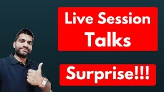 Live Tech Talks, Surprise Live  :) #ASKguruji