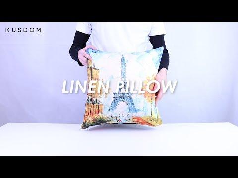Linen Pillow - Design Your Own