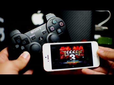 RetroArch - Playstation Games With PS3 Controller on iPhone iPod Touch iPad (Ep. 5) PS3 Controller