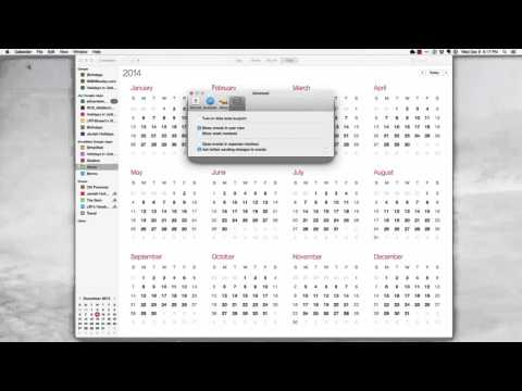 How To Cleanup iCal/Apple Calendar