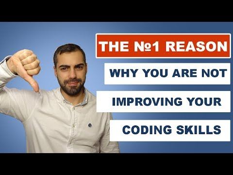 Why you are not improving your coding skills