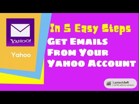 Get Emails From Your Yahoo Account 👉 In 5 Easy Steps