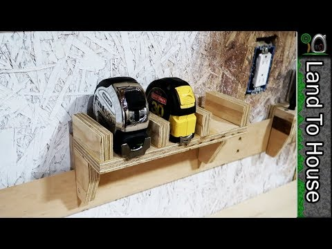 Tape Measure French Cleat - Build a Workshop #56