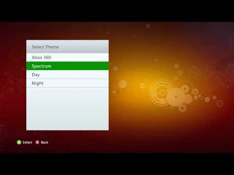 How to change your Xbox 360 Theme [2014]
