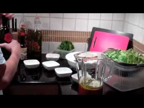How to make ceasar dressing