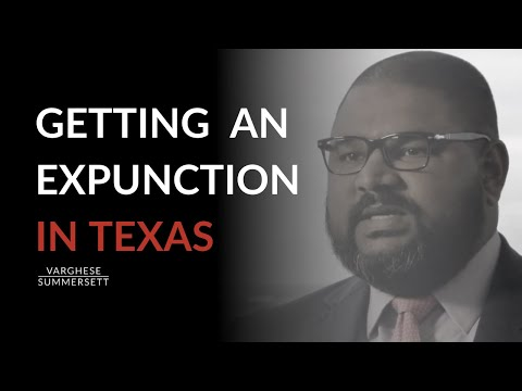 Getting an expunction in Texas