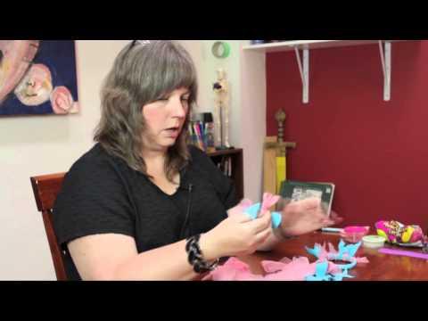 How to Make a Rag Rug Bracelet & Ponytail Holders : DIY Craft Projects