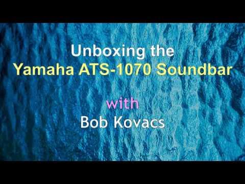 Unboxing the Yamaha ATS-1070 Soundbar