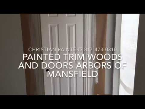 Painted Trim Woods and Doors The Arbors of Mansfield CHRISTIAN PAINTERS