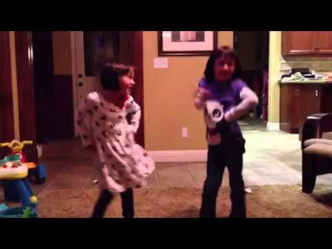 The girls going Gangnam Style