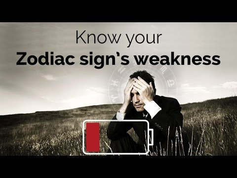 Know your Zodiac sign's weakness