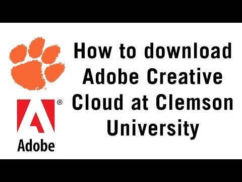 How to Get Adobe Creative Cloud at Clemson
