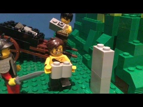 Lego- Building A Roman Aqueduct