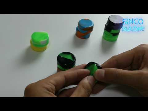 custom concentrate container labels / silicone concentrate container bulk
