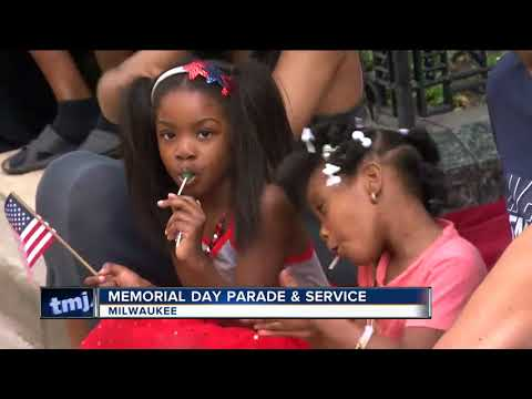 Milwaukee Memorial Day parade goers honor our fallen soldiers