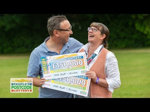 Postcode Millions Winners - M30 8WP in Eccles on 02/06/2018 - People's Postcode Lottery